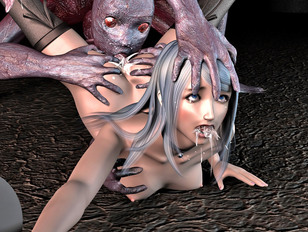 once hd 3d girls are captured there's no getting out