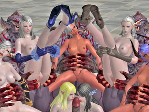 Awesome 3d gallery of sluts having sex with evil monsters.
