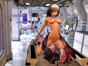 Brutal 3d porn gallery showing tight sluts fucked by a raging monster.