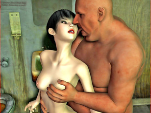 free 3d monster porn with innocent gal sucking some dick