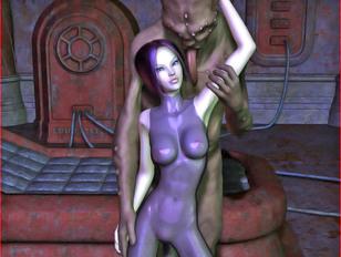 vilent cartoon porn where gal with purple hair is fucked