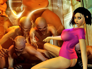 Awesome 3d fantasy gallery featuring cute elf sluts having sex with evil orcs.