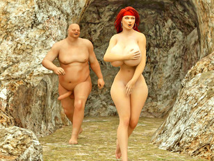Amazing 3d erotic pictures of busty babe raped by evil monsters.
