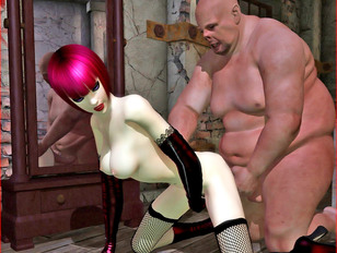 Wonderland's charming babes getting fucked by freaky disgusting creatures - 3D gallery