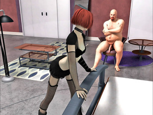 3d monster porn gallery of gals with perfectly shaped butts