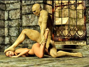 3D girls getting violated by ugly monsters - hardcore monster rape gallery