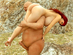 Amazing 3d gallery featuring a lovely girl raped by an ugly monster.