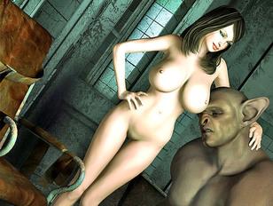 Sexy 3D girls in wild threesomes and orgies in xxx wonderland