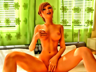 Horny 3d shemale slut bangs the life out of her girlfriend.