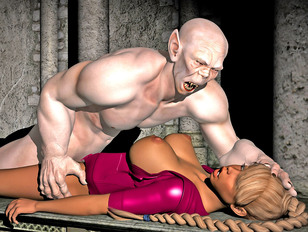 Grotesque 3d vampire fucks the living daylight out of a sexy young bitch.