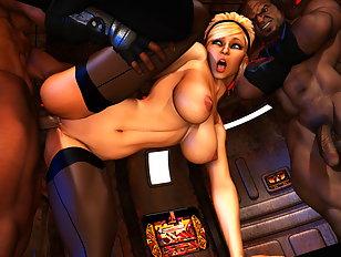 Wild monster porn rape is her fantasy