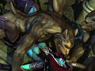 3d werewolf sex galleries with gangbang action