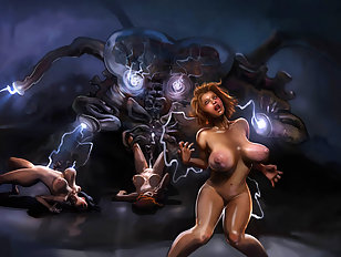 Her goal is to have forced monster sex
