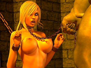 Horny 3d monster pregnant and very wild
