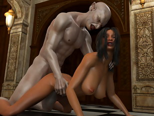 Sexy girl will fuck anything and monsters as well