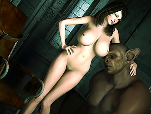 Delicious 3d gal loves being fucked by an ugly troll.