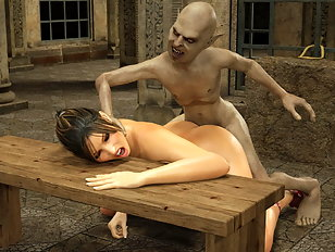 Trolls and ogres grab innocent babes and make them weep