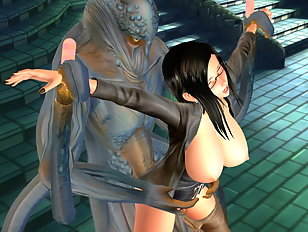 Sublime tender cutie fucked by a hellish horned demon