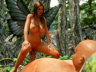 Evil 3D aliens get their cocks stuck in beauties