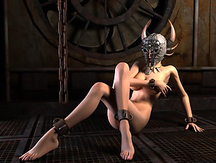 Pleasure demoness is waiting for some XXX company