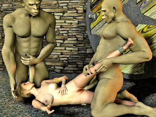 Wild troll sex with hot blonde