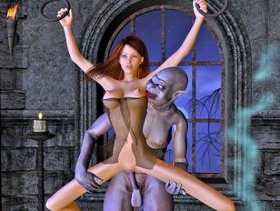 Nosferatu the horny vampire - Getting sacrificed at midnight
