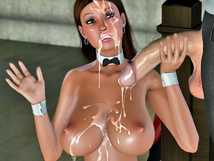 Hot babes xxx fully in fresh semen of monsters!