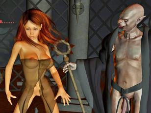 Fantasy cartoon porn drawn so real!