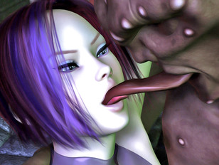 Thankful bosomy xxxbabe is licking peter of her master