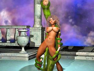 Really good anime girl naked posing and seducing you
