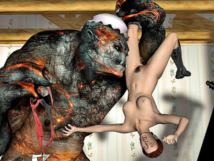 Best 3d monster porn with a giant and a hottie