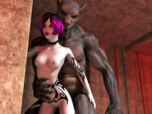 3d evil pics looks so exciting, hurry up to watch this wild fuck