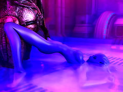 picture #6 ::: 3D female slave is getting ready for thick alien cocks