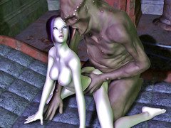 picture #2 ::: Monsters drill sweet girls with huge cocks