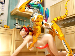 picture #1 ::: Horny maid enjoys getting fucked by a robot