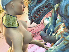 picture #6 ::: 3d monster attack at women from Earth