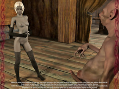 picture #4 ::: Sex loving dark elf banged by hideous creatures