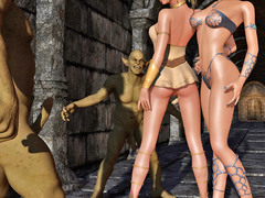 picture #8 ::: Sex loving dark elf banged by hideous creatures