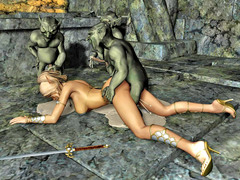 picture #1 ::: Animated xxx elf girls undressing for you!