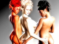 picture #2 ::: Animated xxx elf girls undressing for you!