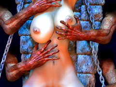 picture #3 ::: Watch devil cock 3d porn pics and enjoy their hotness