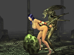 picture #6 ::: Ripped minotaur fucks a chained elf hottie