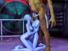 picture #5 ::: 3d monster toons with anal fuck!