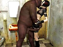 picture #7 ::: 3d xxx fuck in toilet!