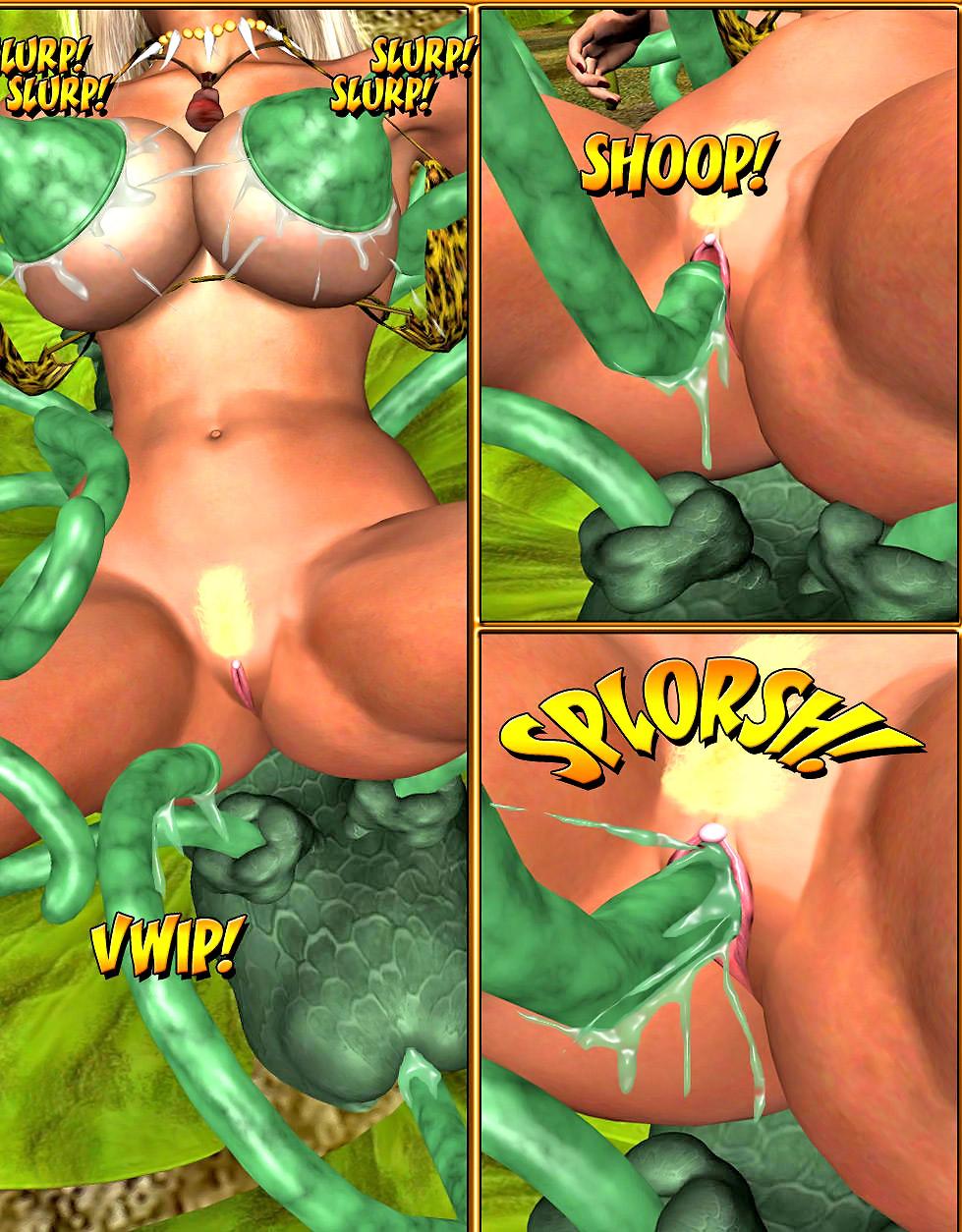 3d monster sex comics tentacle
