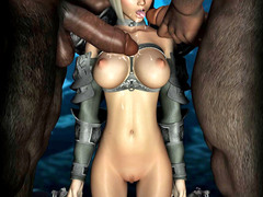 picture #2 ::: These busty alien babes love flaunting their racks