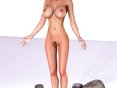 picture #4 ::: These busty alien babes love flaunting their racks