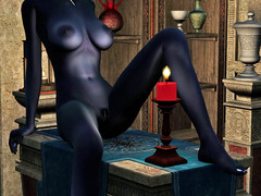 picture #8 ::: These busty alien babes love flaunting their racks