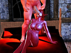picture #2 ::: Best of slutty little vixens riding on monsters' cocks