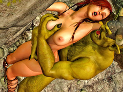picture #3 ::: Best of slutty little vixens riding on monsters' cocks
